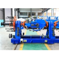 Buy cheap 53r/Min HBR Bearing Cable Twisting Machine , Touch Screen PLC Wire Twisting Machine AC Motor from wholesalers