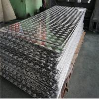 Buy cheap Aircraft Grade Aluminium Alloy Checker Plate Embossed Tread Sheet 1.0 - 5.0mm Thickness from wholesalers