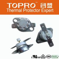Buy cheap 250V 16A Manual reset Ceramic KSD301 Snap action Thermostat from wholesalers