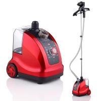 Buy cheap High Power Home Clothes Steamer Red Easy Movement Clothes Ironing Machine from wholesalers