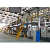 Buy cheap 1800MM 3 Ply Corrugated Cardboard Production Line 100m / Min For Cardboard Making from wholesalers