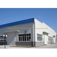 Buy cheap Lightweight Pre Built Steel Buildings Painted Or Galvanized Surface Treatment from wholesalers