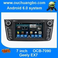 Buy cheap Ouchuangbo car raadio dvd for Geely EX7 with 1080P HD video decode playing android 6.0 from wholesalers