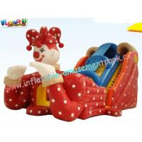 Buy cheap Kids Inflatable Colorful PVC tarpaulin Commercial Inflatable Slide with digital product