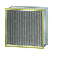 Wholesale Industrial Air Filter System , Pleated Hepa Filter With Double Header Cell Sides from china suppliers