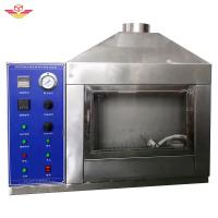 Buy cheap Single - Flame Source Testing Equipment Equipped With Manual Adjustable Damper Device from wholesalers