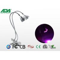 Flexible Swan Neck 10W Dual Head LED Grow Light Aluminum alloy body Manufactures