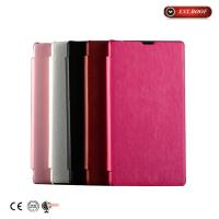 Buy cheap Slim Faux Leather Sony Xperia Cell Phone Cases Scratch Proof from wholesalers