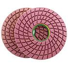 Buy cheap 250mm ( 10 ) Wet Polishing Pads for polishing marble and granite,high quality with competitive price,high shine gross from wholesalers
