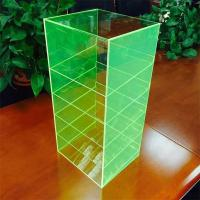 China new design free style acrylic phone accessories display rack case on sale