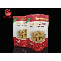 PET / PE Laminated Stand Up Pouches for Fruit Filled Mini - Pie Manufactures