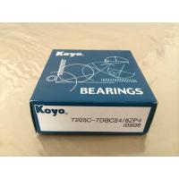 Buy cheap High Precision Original Japan KOYO Angular contact ball bearing 7205C product