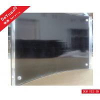 Buy cheap OEM Acrylic Magnetic Photo Frame / Acrylic Curved Black Picture Frame from wholesalers