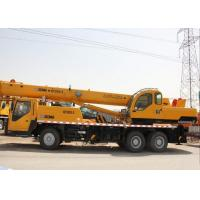 Buy cheap Durable Hydraulic Outriggers Hydraulic Mobile Crane With QY20G Truck Crane from wholesalers