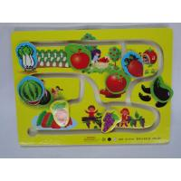 Buy cheap Wholesale Unique Vegetables / Fruit Track Early Childhood Educational Toys for Toddlers from wholesalers