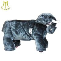 Buy cheap Hansel plush motorized mall animals and plush motorized animals scooter with stuffed animals ride for mall from wholesalers