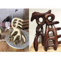 Buy cheap Retro Style Chinese Character Statues , Giant Fiberglass Statues Museum Decorations from wholesalers
