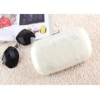 Buy cheap New And Fashion white pearl acrylic Evening Clutch Handbag For Dinner Party from wholesalers