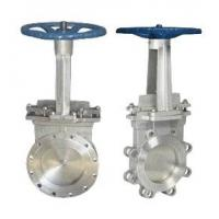 Buy cheap Stainless Steel Knife Gate Valve Operating Temperature -100℃ - 600℃ from wholesalers