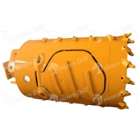 Buy cheap 600mm Dia 1200mm Length Core Barrel , Bucket Auger Drilling With Auger Teeth from wholesalers