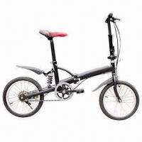 Buy cheap Foldable Bike with Aluminum Rim and Steel Sprocket Crane from wholesalers
