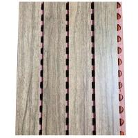 Buy cheap Active Noise Cancellation Sound Proof Wooden Board Music Room Grooved Wall Panel from wholesalers