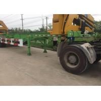 Buy cheap Side Lifter 3 Axles Truck Mounted Crane 20ft 40ft FUWA Brand Tri Axle from wholesalers