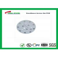 Buy cheap Electronic Aluminum PCB Manufacturer for LED lighting White Solder Mask Rould PCB from wholesalers