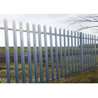Wholesale Security Defense Metal Palisade Fencing Anti Vandal For Residential Garden from china suppliers