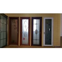 Buy cheap Toilet Kitchen Room Tempered Glass Aluminium Folding Doors Waterproof Side Hung from wholesalers