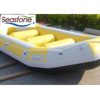 Buy cheap 450cm Inflatable Fly Fishing Rafts , Heavy Duty River Rafts Excellent Air Tightness from wholesalers