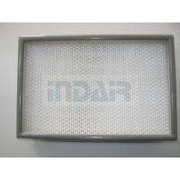 Buy cheap 0.3 Micron Clean Room HEPA Filters , 24 x 48 HEPA Filter With FM Approval from wholesalers