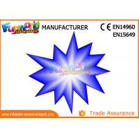 Wholesale LED Flower And Star Inflatable Lighting Decoration For Party / Stage Decoration from china suppliers