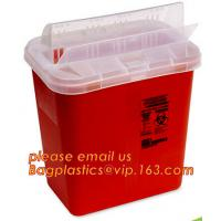 Buy cheap Plastic Disposable Medical Sharps Containers, Kenya safety box for needle/medical waste sharp container, Medical Plastic from wholesalers