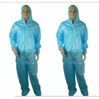 Buy cheap Throw Away Overalls , Waterproof Insulated Disposable Coveralls Harbor Freight from wholesalers
