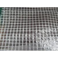 Buy cheap 3x3 mesh clear poly tarp used for packing and roofing cover from wholesalers