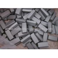 High Hardness K30 HIP Tungsten Carbide Mining Tips for Drill Bits , Rock Tools Manufactures