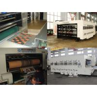 Buy cheap High Speed Automatic  Carton Box Making Machine Printing Slotting Die-Cutter 220 Pcs/Min from wholesalers