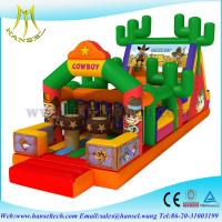 Hansel china best selling cheap big inflatable obstacle course playground sports games Manufactures