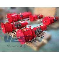 Buy cheap Double Acting Scotch Yoke Pneumatic Actuator For Waste Water Treatment Plants from wholesalers