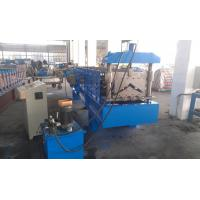 Buy cheap Metal Building Ridge Cap Roll Forming Machine 11 Stations PLC Control from wholesalers