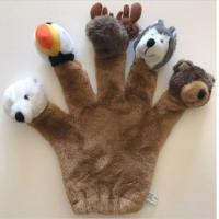 Buy cheap Zoo Animal Finger Puppets , Stuffed Animal Hand Puppets For Toddlers Educational from wholesalers