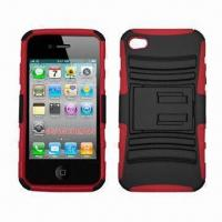 Buy cheap Accessories for iPhone, Soft Case with Holder, Protects from Bumps and Scratches from wholesalers