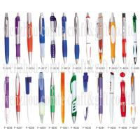 Buy cheap Cheap price and good quality Plastic Pen with advertising flag from wholesalers