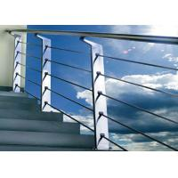 Buy cheap Silver Color Stainless Steel Railing For Protection Personal Safety GB Approved from wholesalers
