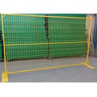 High Performance Galvanized Metal Weld Mesh Fence Panels For Sporting Events