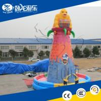 Buy cheap Giant Outdoor Sport Game Inflatable Rock Climbing Wall for Kids and Adults from wholesalers