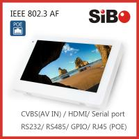 China Automation Controlling 7 Inch Android 6.0.1 OS Rooted Wall Mount Tablet DC IN or POE Powering on sale