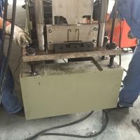 Buy cheap Fully Automatic Galvanized Vigacero Deck Floor Roll Forming Machine Ceiling Rail Making Machine from wholesalers
