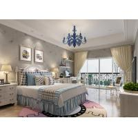 Buy cheap Removable Rustic Washable Vinyl Butterfly with Flower Wallpaper for Bedroom from wholesalers
